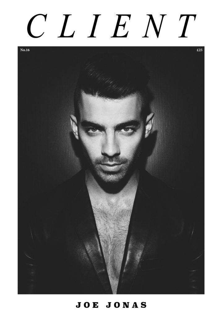 Joe Jonas by Ian Cole